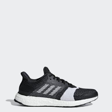 Men Running Black Ultraboost ST Shoes
