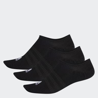 Løb Sort No-show sokker, 3 par