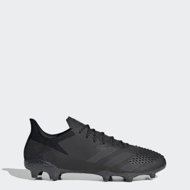 Botas de Futebol Predator 20.2 – Piso firme Preto Futebol