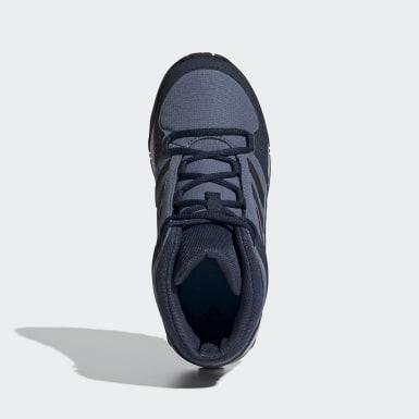 Kids 4-8 Years TERREX Blue Terrex Hyperhiker Hiking Shoes
