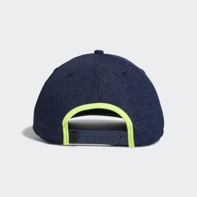 Men Golf Blue Color Pop Hat