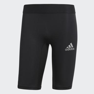 Calzas cortas Alphaskin Sport Negro Hombre Fútbol