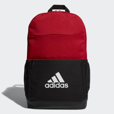 เทรนนิง สีแดง กระเป๋าสะพายหลังทรงคลาสสิก