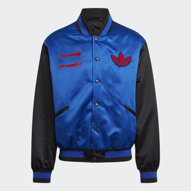 Men Originals Blue Run-DMC Collegiate Jacket