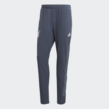 Pantaloni da allenamento FC Bayern München Blu Uomo Calcio