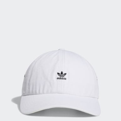 Women's Originals White Mini Logo Relaxed Hat