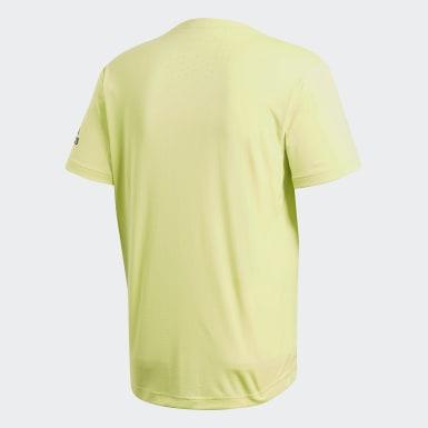 Erkek Training Yellow Freelift Climachill Tişört