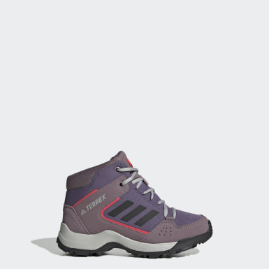 Children Hiking Purple Terrex Hyperhiker Hiking Shoes