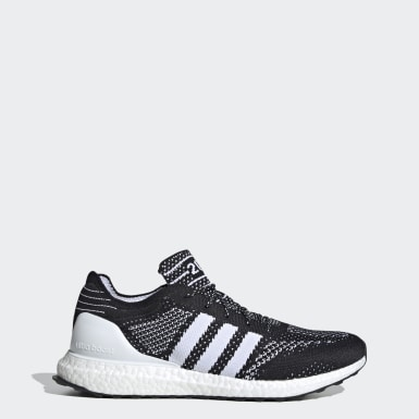 Men Running Black Ultraboost DNA Prime Shoes