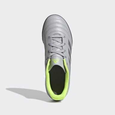 Calzado de Fútbol Copa 20.4 Pasto Artificial Gris Niño Fútbol