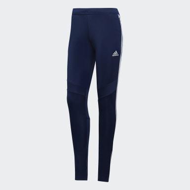 Pantaloni da allenamento Tiro 19 Blu Donna Calcio