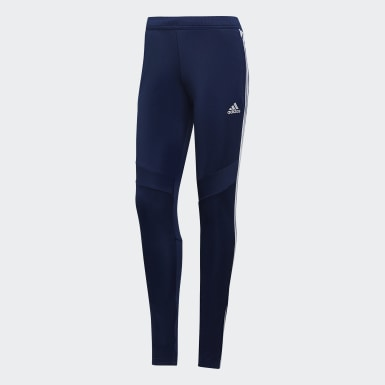 Women Football Blue Tiro 19 Training Pants