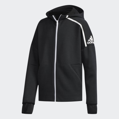 HOODED TRACK TOP YB ZNE HD 3.0