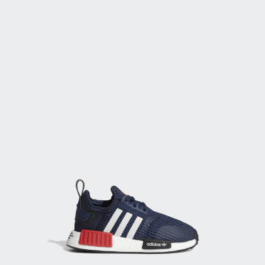 Infant & Toddler Originals Blue NMD_R1 Shoes