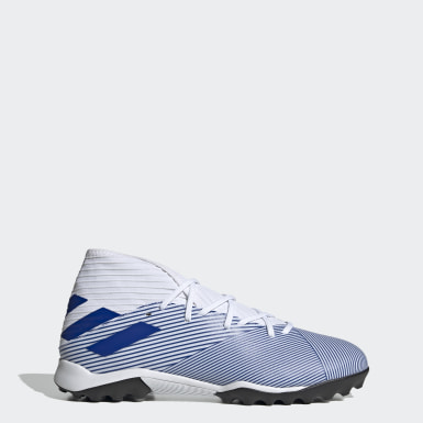 Fodbold Hvid Nemeziz 19.3 Turf støvler