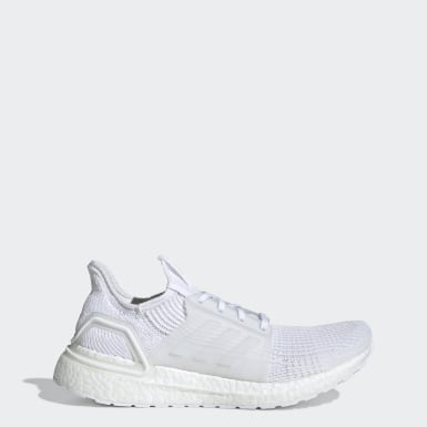 Men's Running White Ultraboost 19 Shoes