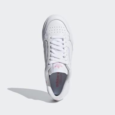 Frauen Originals Continental 80 Schuh Weiß