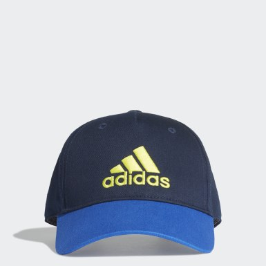 Youth 8-16 Years Training Blue Graphic Cap