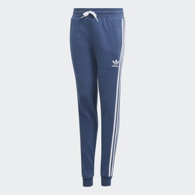 Youth Originals Blue 3-Stripes Pants