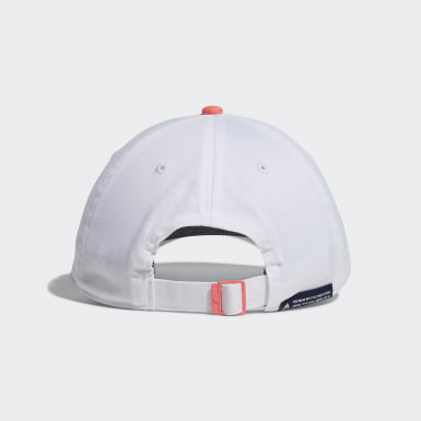 Women Golf White Twill Cap
