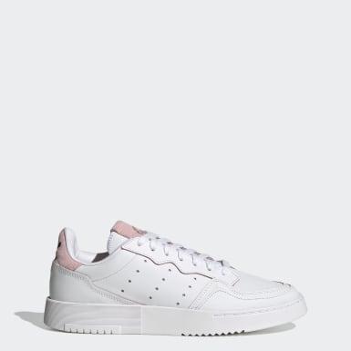 ผู้หญิง Originals สีขาว รองเท้า Supercourt