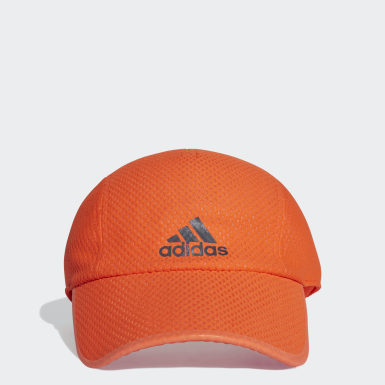 Running Orange Climacool Running Cap
