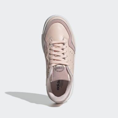 Sapatos Supercourt Rosa Criança Originals