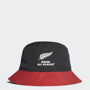 Chapéu dos Māori All Blacks Preto Rugby