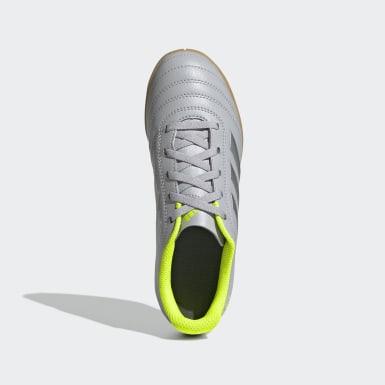 Children Soccer Grey Copa 20.4 Indoor Shoes