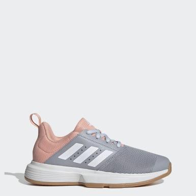 Dames Netbal grijs Essence Indoor Schoenen