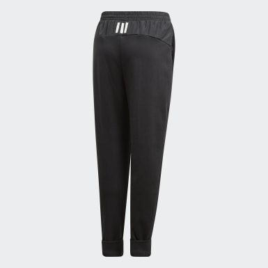 Girls Training Black ID Hybrid Joggers
