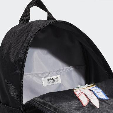 Originals สีดำ กระเป๋าเป้ทรงคลาสสิกขนาดเล็ก Adicolor