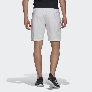 Men Tennis White Club Tennis 3-Stripes Shorts