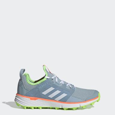 Sapatos de Trail Running Speed LD TERREX Azul Mulher TERREX