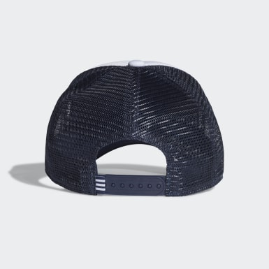 Originals Blue Adicolor Curved Trucker Cap