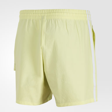 Men Athletics Yellow ID Cargo Shorts