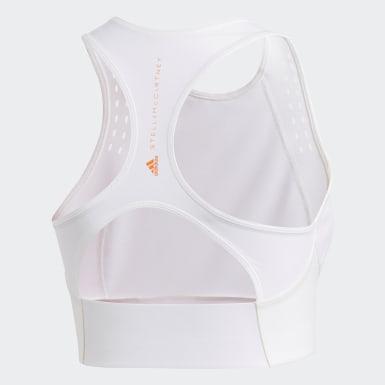 белый Укороченная футболка для фитнеса TRUEPURPOSE