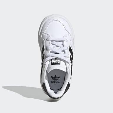Sapatos Team Court Branco Criança Originals