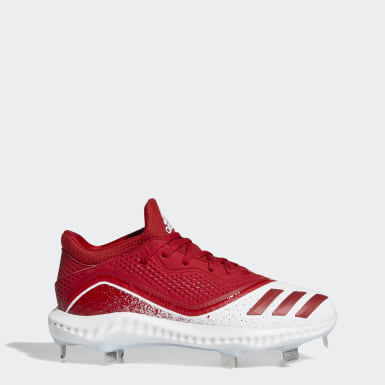 Women's Softball Red Icon V Bounce Cleats
