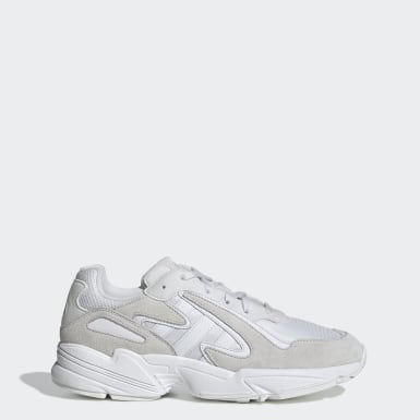 Men's Originals White Yung-96 Chasm Shoes