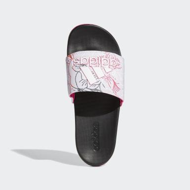 ผู้หญิง ว่ายน้ำ สีม่วง รองเท้าแตะ Adilette Comfort