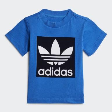 Conjunto Shorts e Camiseta Azul Kids Originals