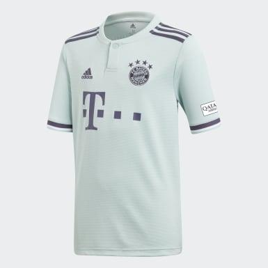Camiseta segunda equipación FC Bayern Réplica Turquesa Niño Fútbol