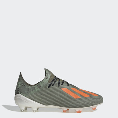 Men Football Green X 19.1 Firm Ground Boots