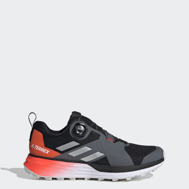Heren TERREX Zwart Terrex Two Boa Trail Running Schoenen