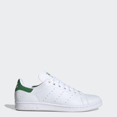 Erkek Originals Beyaz Stan Smith Vegan Ayakkabı
