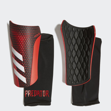 Football Black Predator 20 League Shin Guards