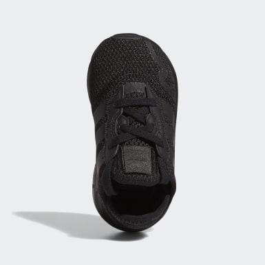 Chaussure Swift Run X Noir Enfants Originals