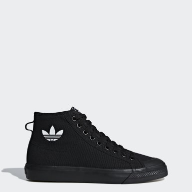 Men's Originals Black Nizza High Top Shoes