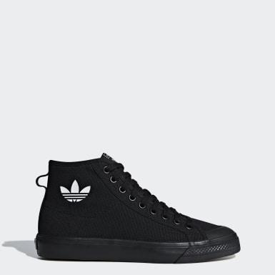 черный Высокие кроссовки Nizza